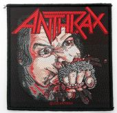 Anthrax - 'Fistful of Metal' Woven Patch